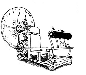 time machine sketch