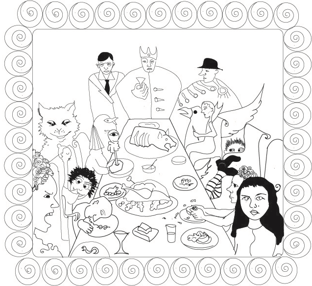 a dinner party